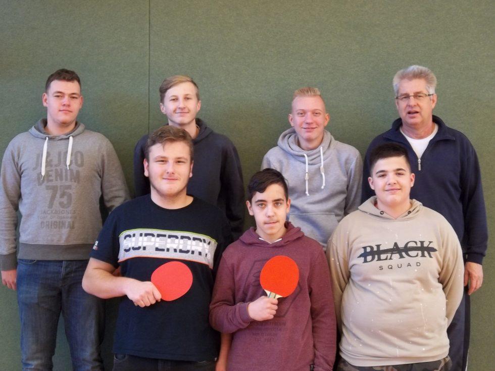 Schulamtsfinale Tischtennis