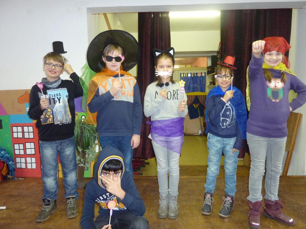 Besuch aus den 4. Klassen der Eisenberger Grundschulen