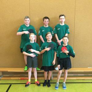 Tischtennis-Turnier in Hermsdorf