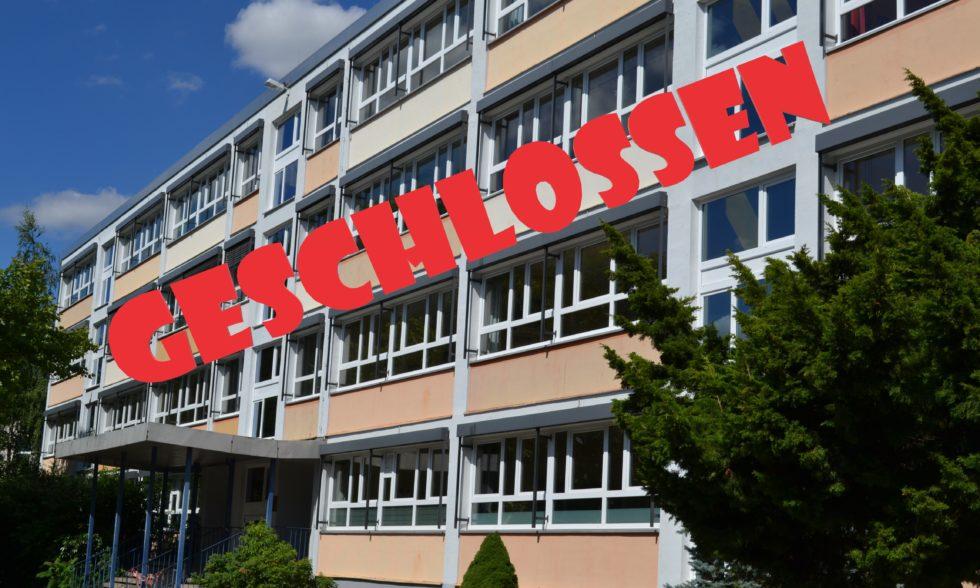 Schule geschlossen