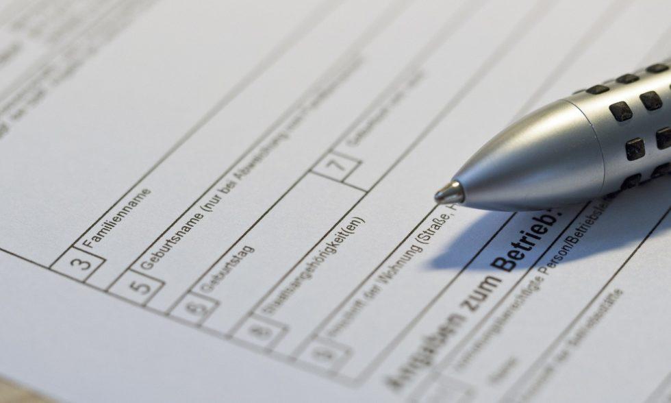 Antragsformular für Eltern für die Bereitstellung digitaler Endgeräte